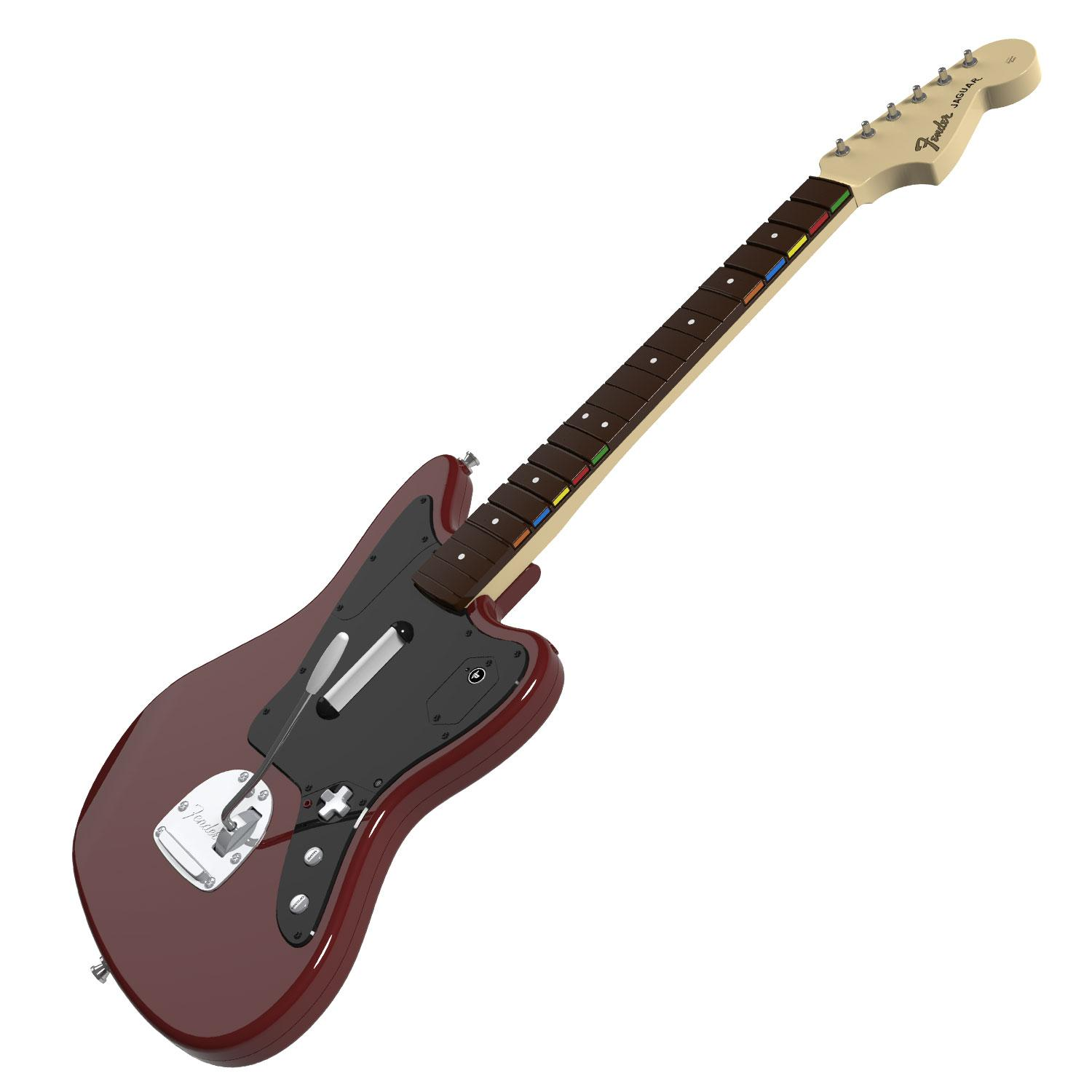rock band fender jaguar guitar controller for