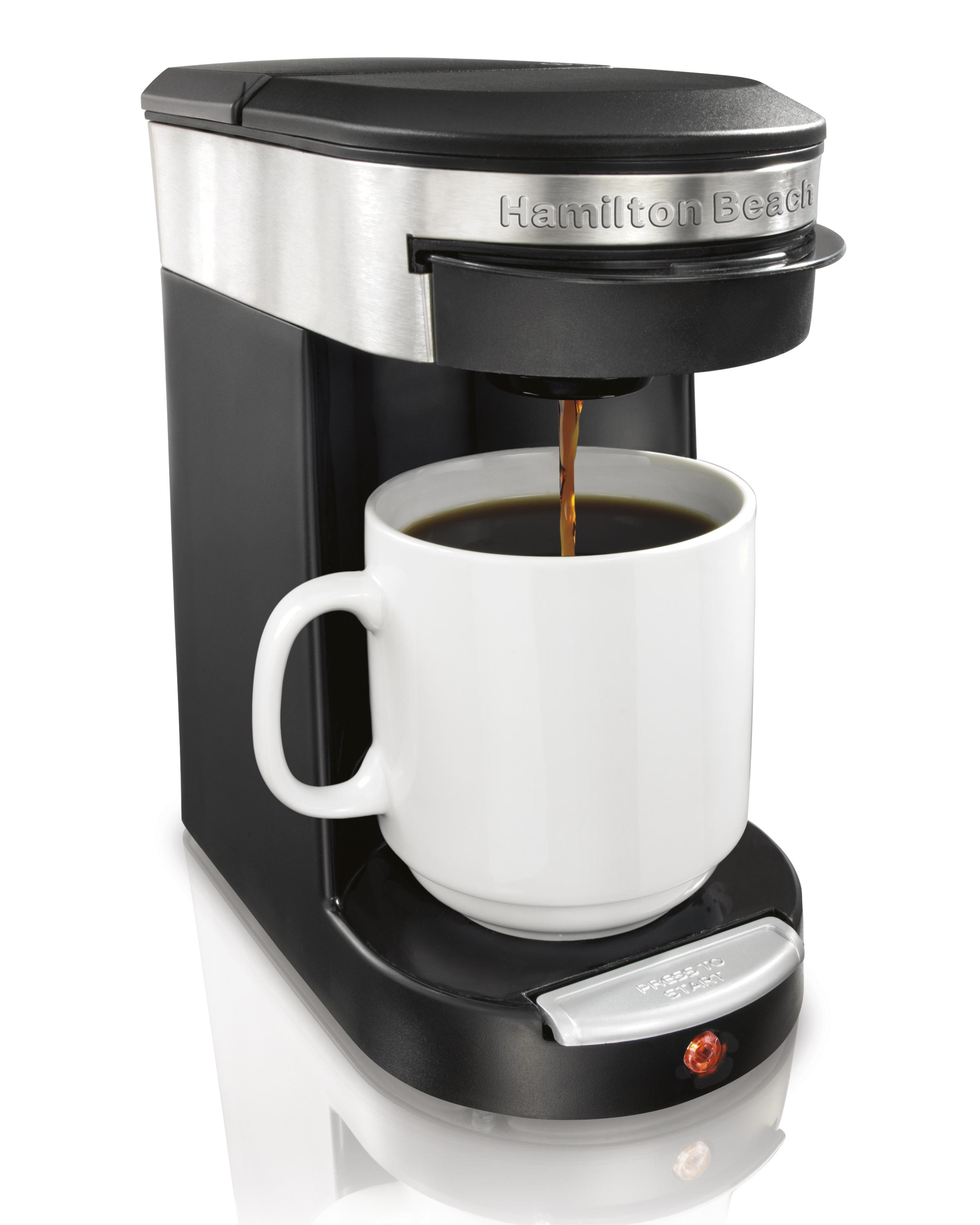 Electronic Keurig Coffee Machine Price single serve brewers amazon com hamilton beach 49970 personal cup one pod brewer