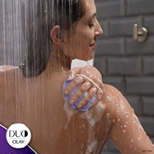 Olay DUO: Breakthrough flexible body cleanser lathers and contours along your body's curve for a clo