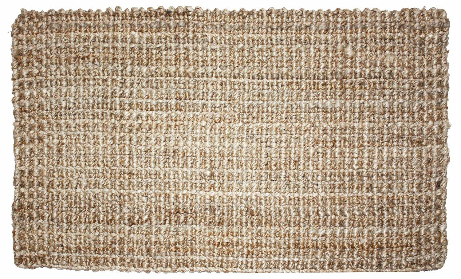 Amazon Com J Amp M Home Fashions Rolled Jute Rug 24 By 36
