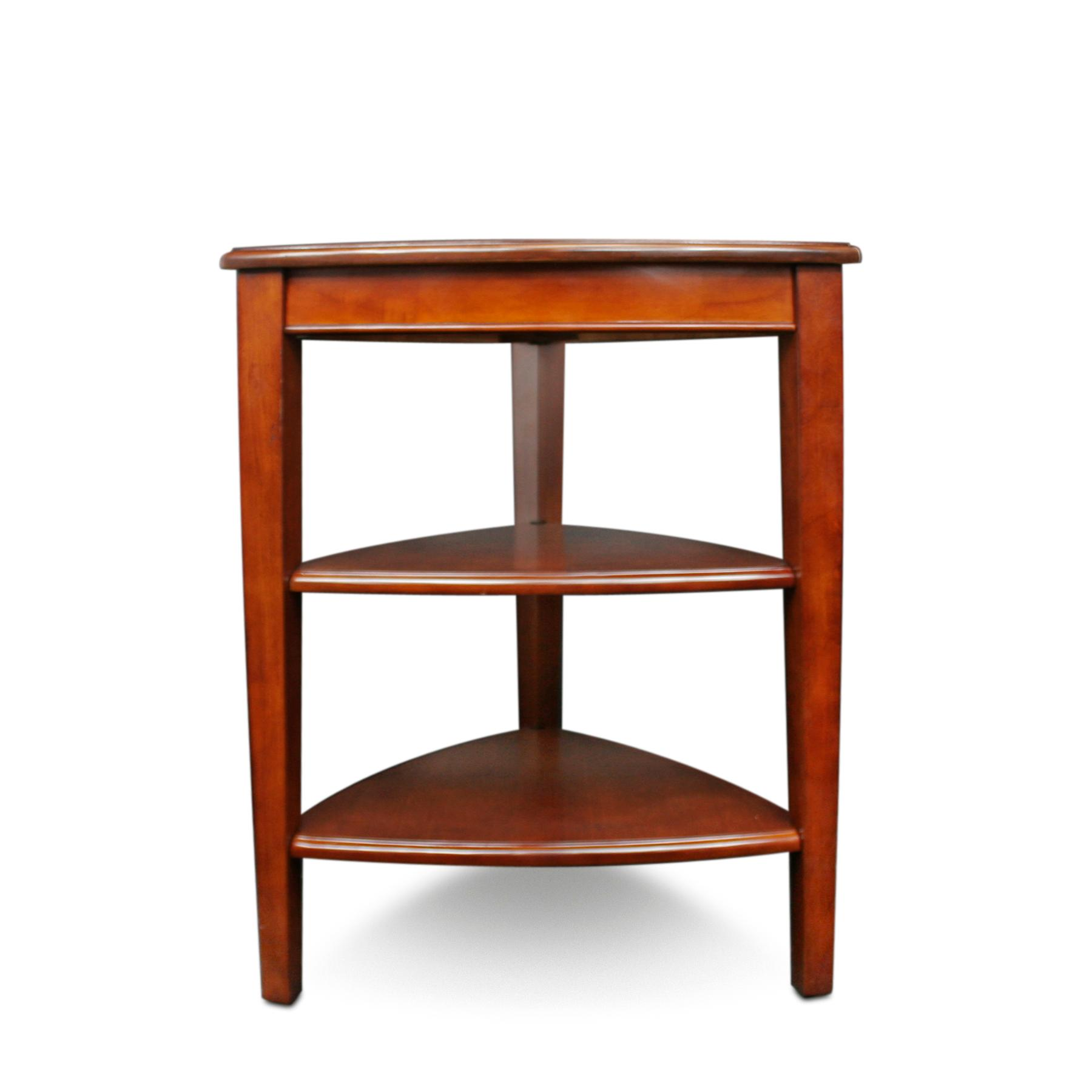 Leick shield tier corner accent table kitchen - Corner tables for living room online india ...