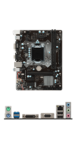 Amazon.com: MSI Intel Skylake H110 LGA 1151 DDR4 USB 3.1 ...