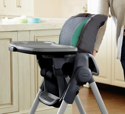 Amazon Com Graco Swift Fold Lx Highchair Basin Baby