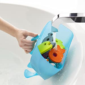 Amazon.com : Boon Whale Pod Drain and Storage Bath Toy