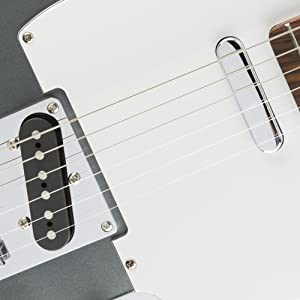 Two Telecaster Style Single-Coil Pickups. The Squier by Fender Affinity ...