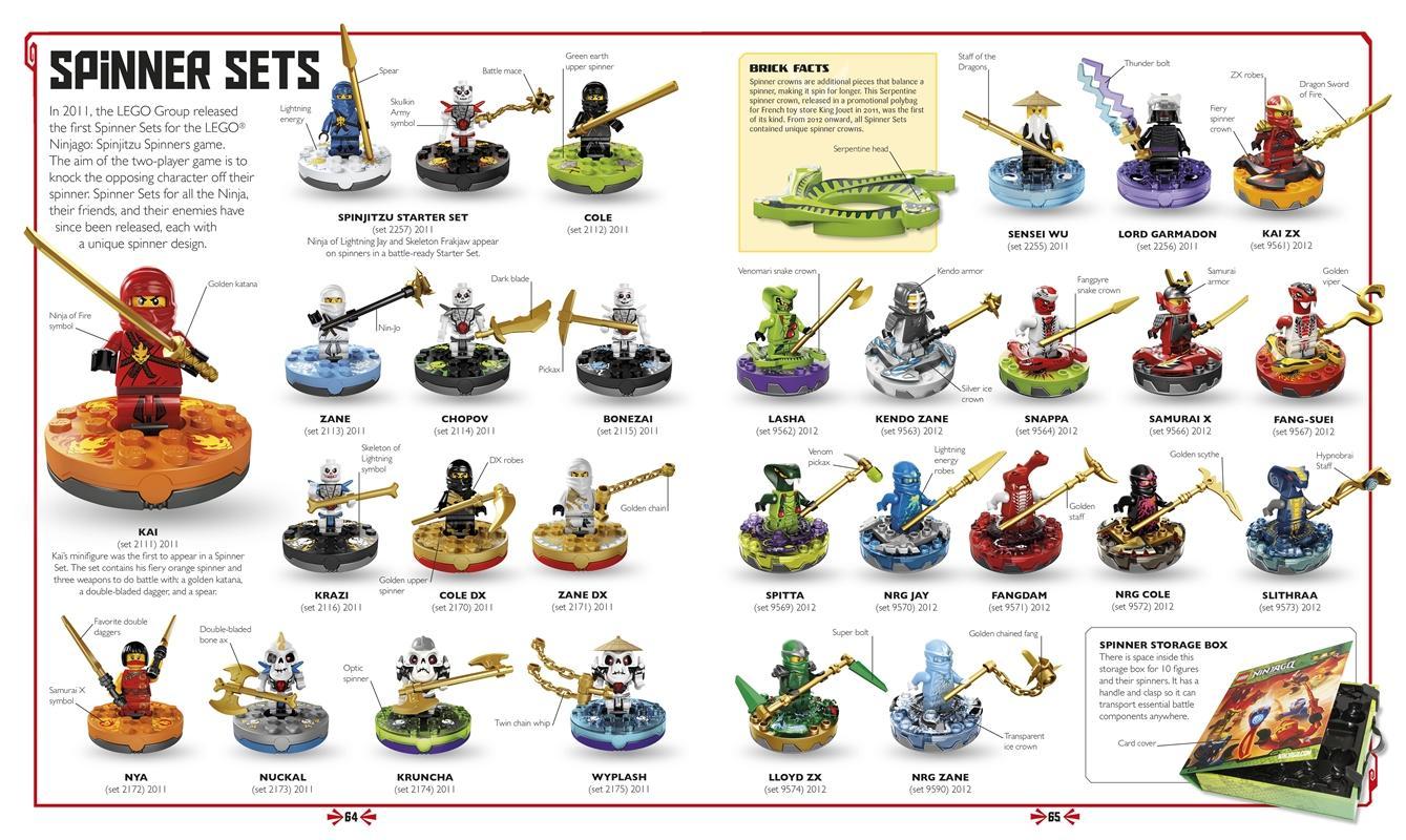 LEGO NINJAGO: The Visual Dictionary (Masters of Spinjitzu): Hannah Dolan: 8601422081138: Amazon