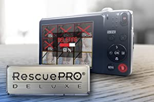 SanDisk card comes with a RescuePRO Deluxe data recovery software