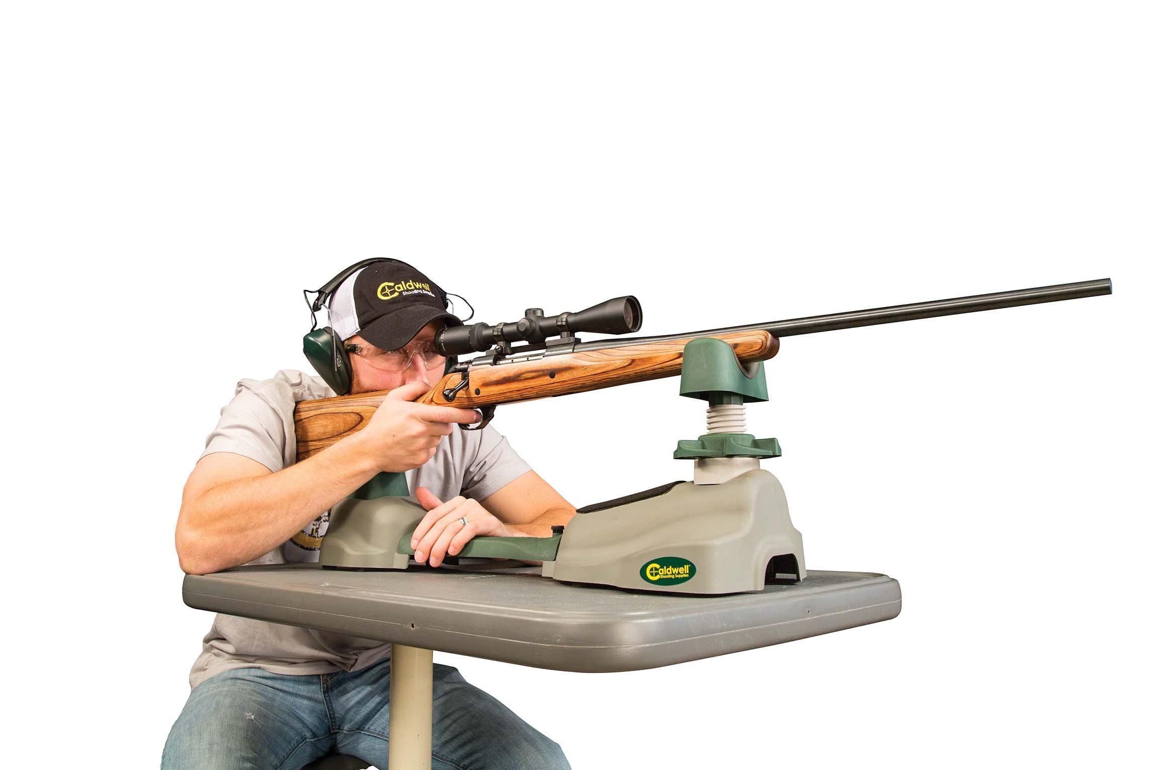 Amazon Com Caldwell Steady Rest Nxt Adjustable Ambidextrous Rifle