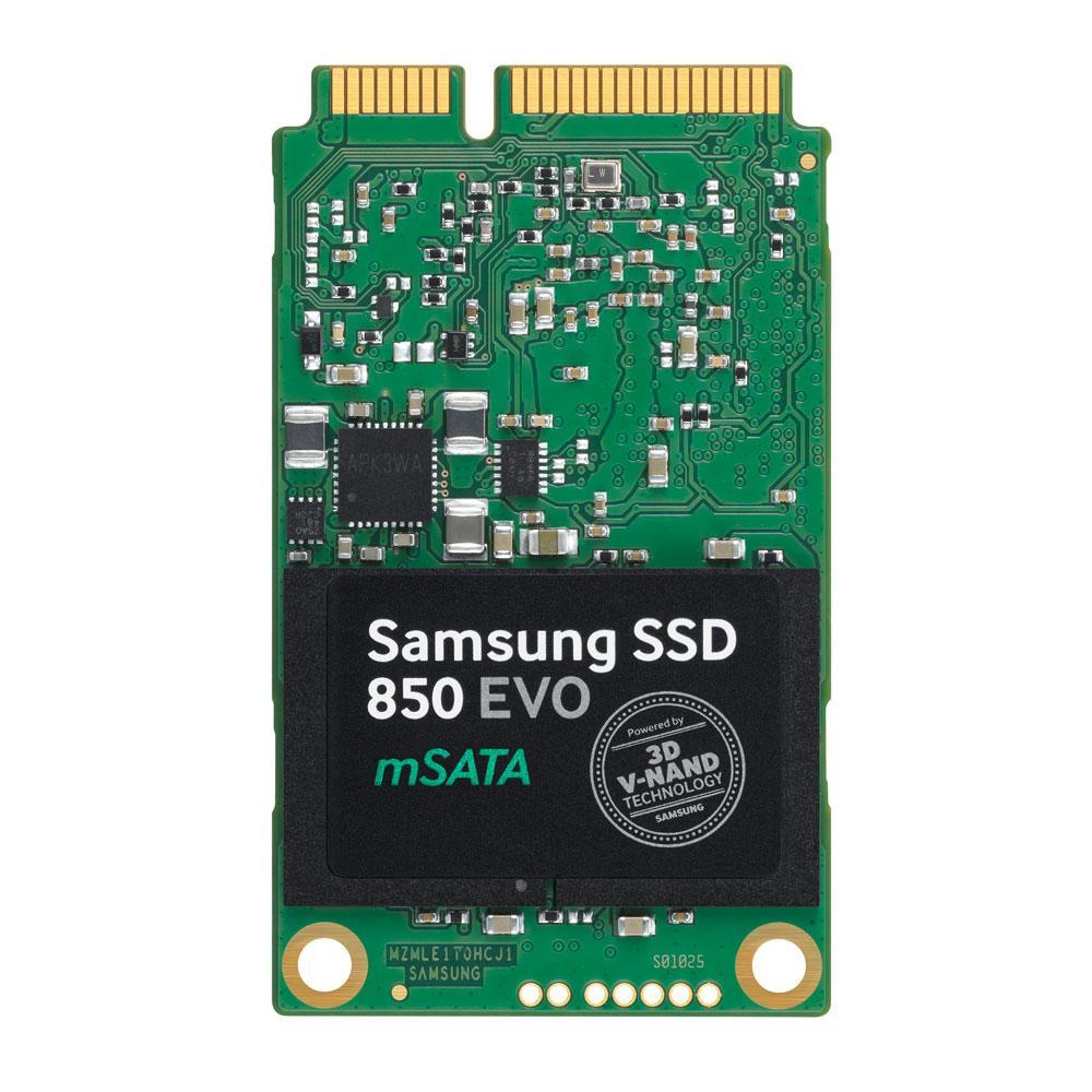 Samsung 850 EVO mSATA SSD - Hero Image