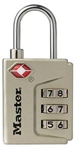 Master Lock 4687DNKL Instant Alert TSA Accepted Luggage Lock