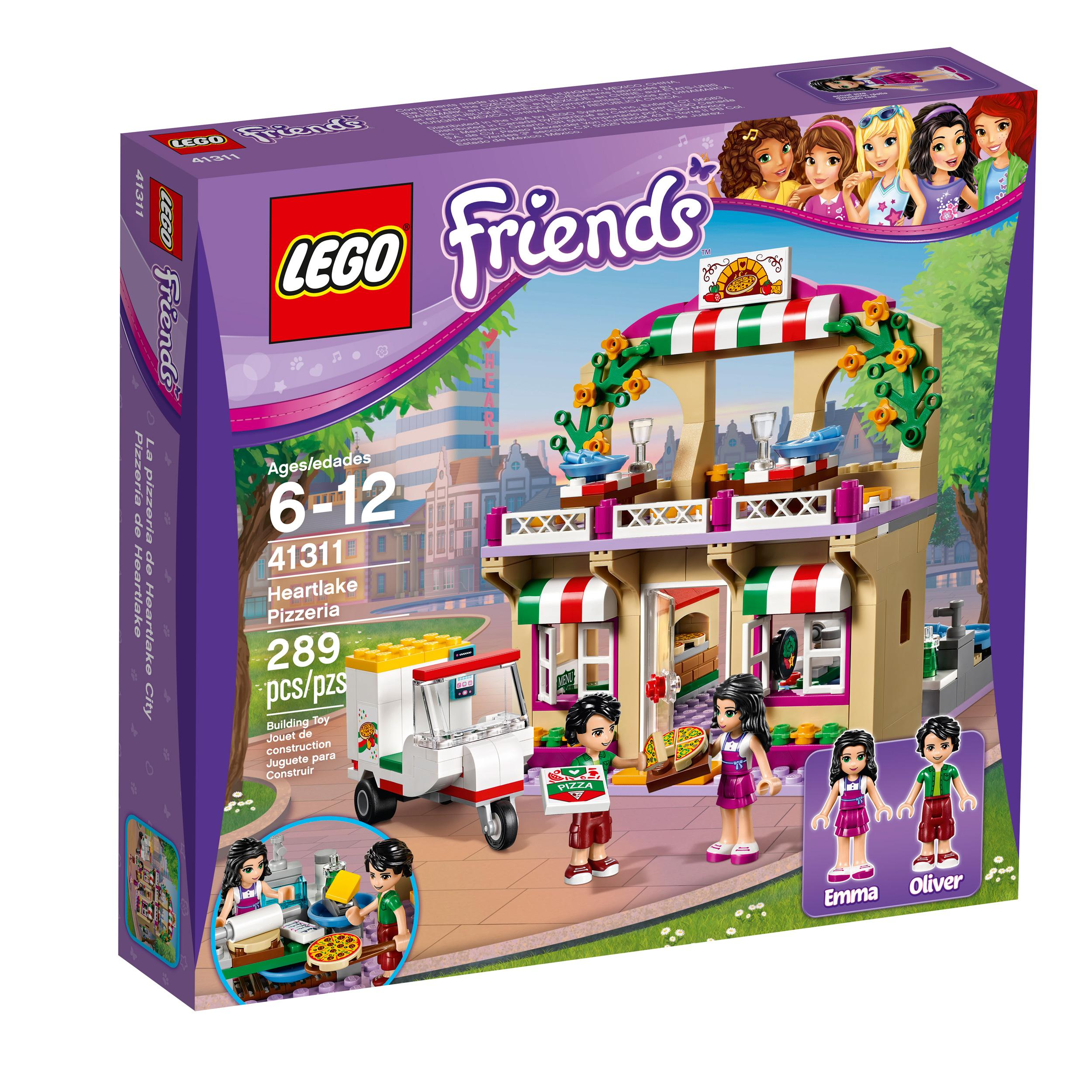 Toys For 6 12 Years : Amazon lego friends heartlake pizzeria toy for