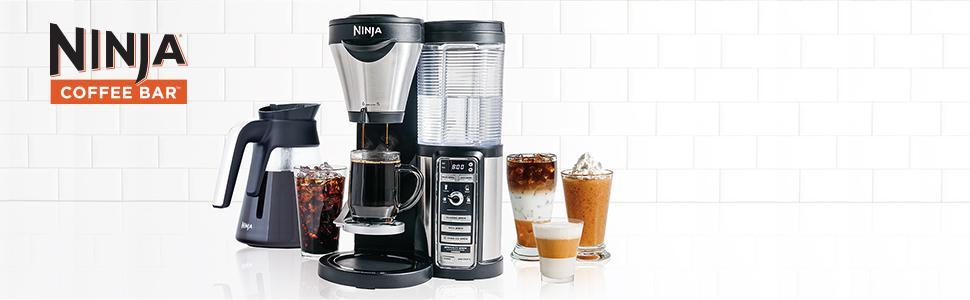 Ninja Coffee Bar Auto Iq Coffee Maker W/ Glass Carafe Reviews : Ninja Auto IQ Coffee Bar CF081 Coffee Maker w/ Glass Caraffe & Milk Frother eBay