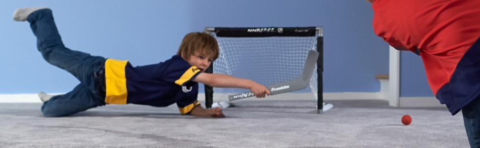 89b0d2b73de Amazon.com   Franklin Sports Mini Hockey Goal Set Of Two - NHL ...