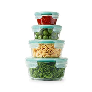 SNAP Glass Rectangular Containers