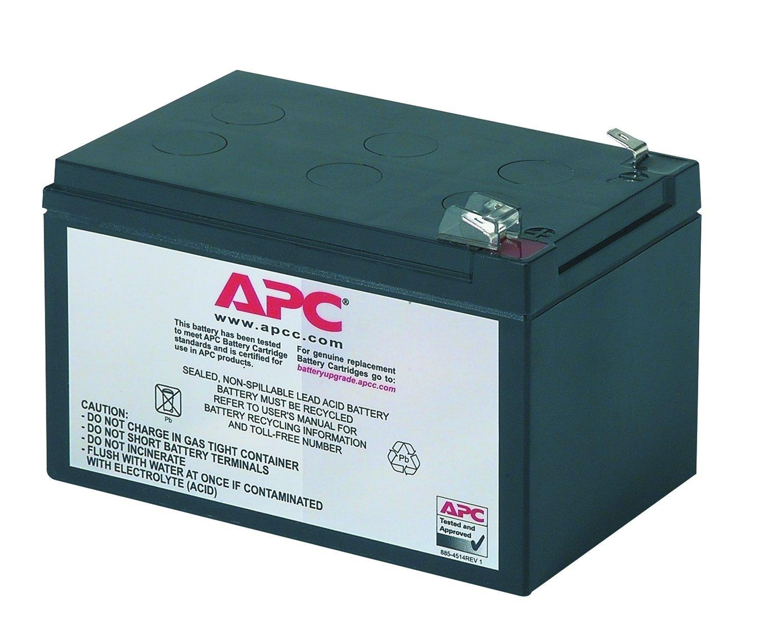 This is an AJC Brand Replacement APC SC620I 12V 12Ah UPS Battery