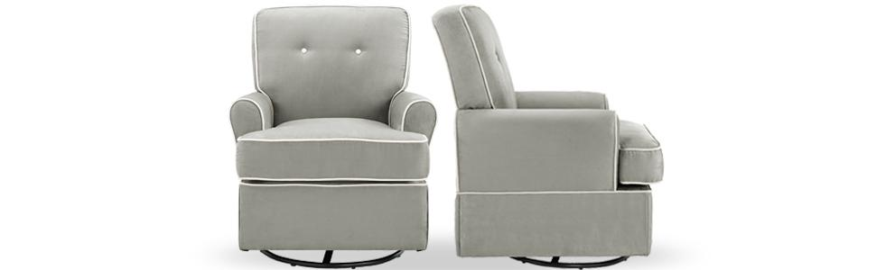 Baby Relax Tinsley Swivel Glider Functions