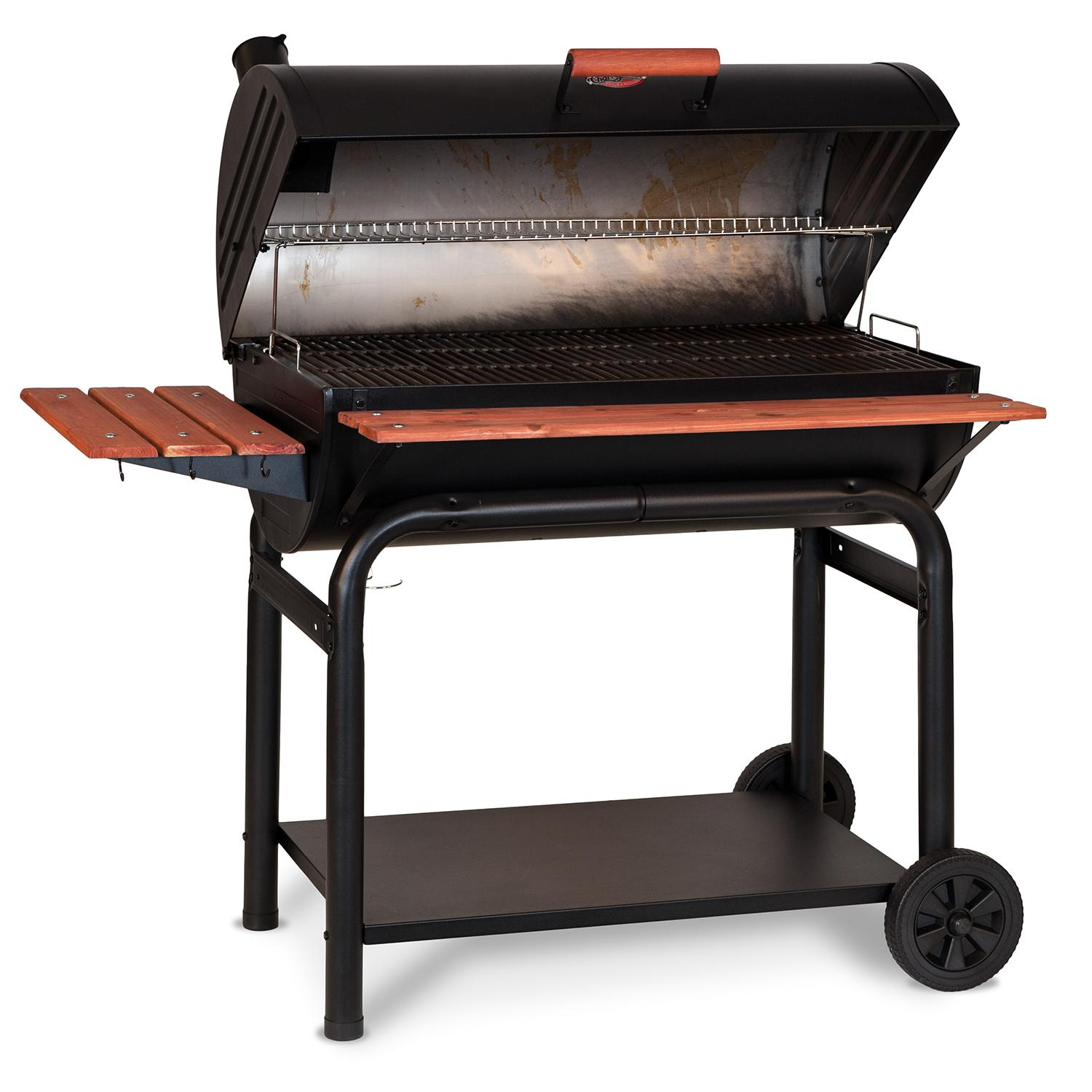 Amazon.com: Char-Griller 2123 Wrangler 635 Square Inch Charcoal Grill