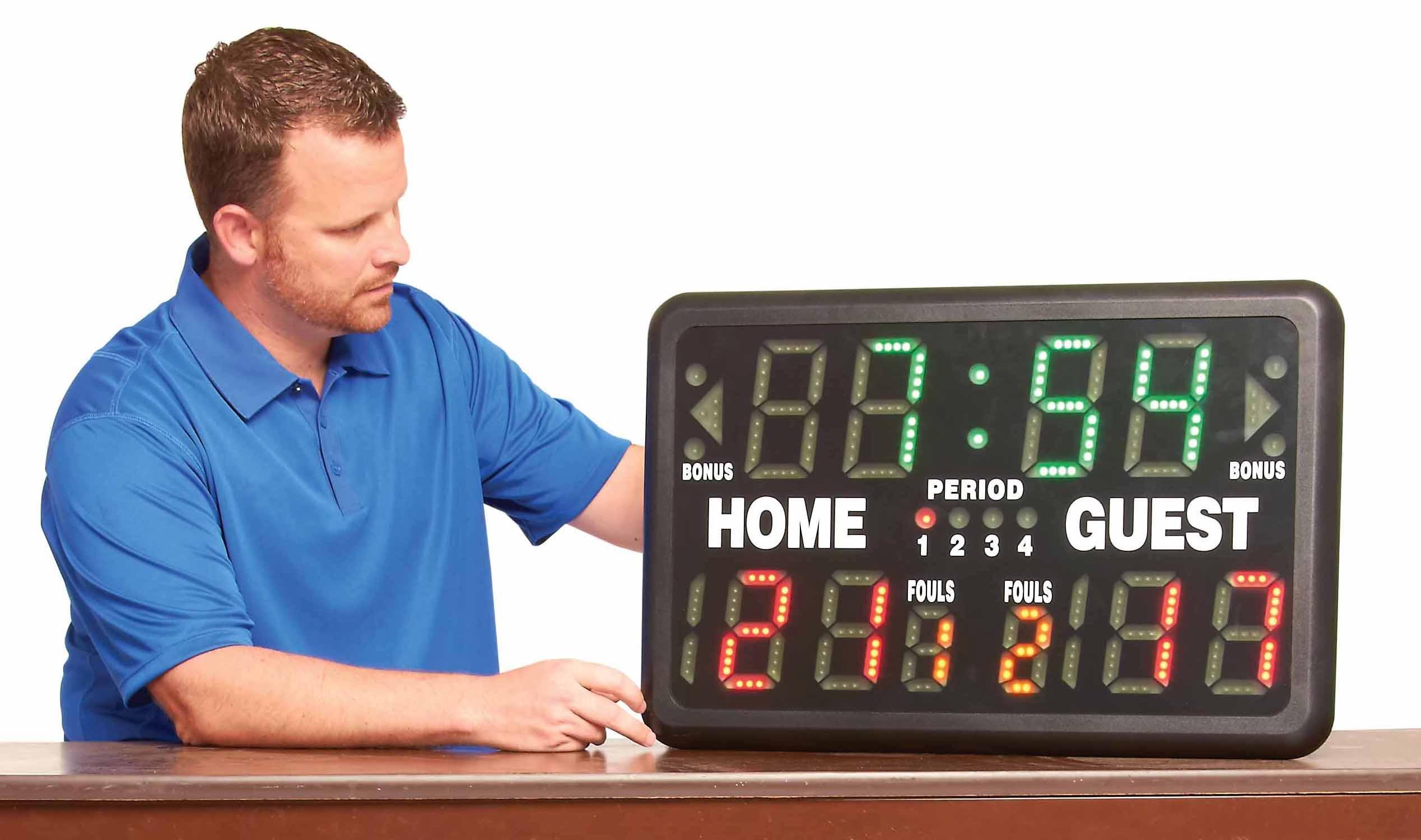 Amazon Com Bsn Multisport Indoor Tabletop Scoreboard