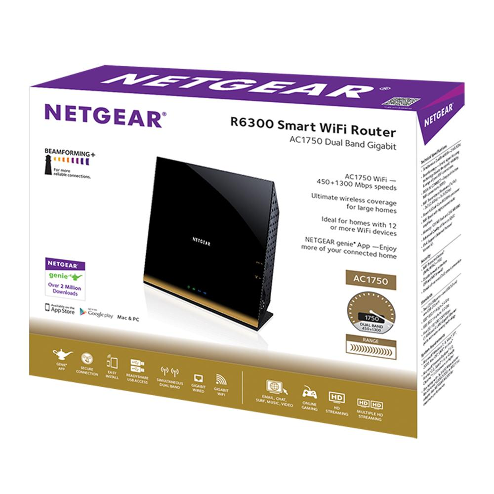 Amazon.com: NETGEAR Smart WiFi Router AC1750 Dual Band