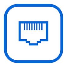 Gigabit Ethernet Ports for Fast File Transfer