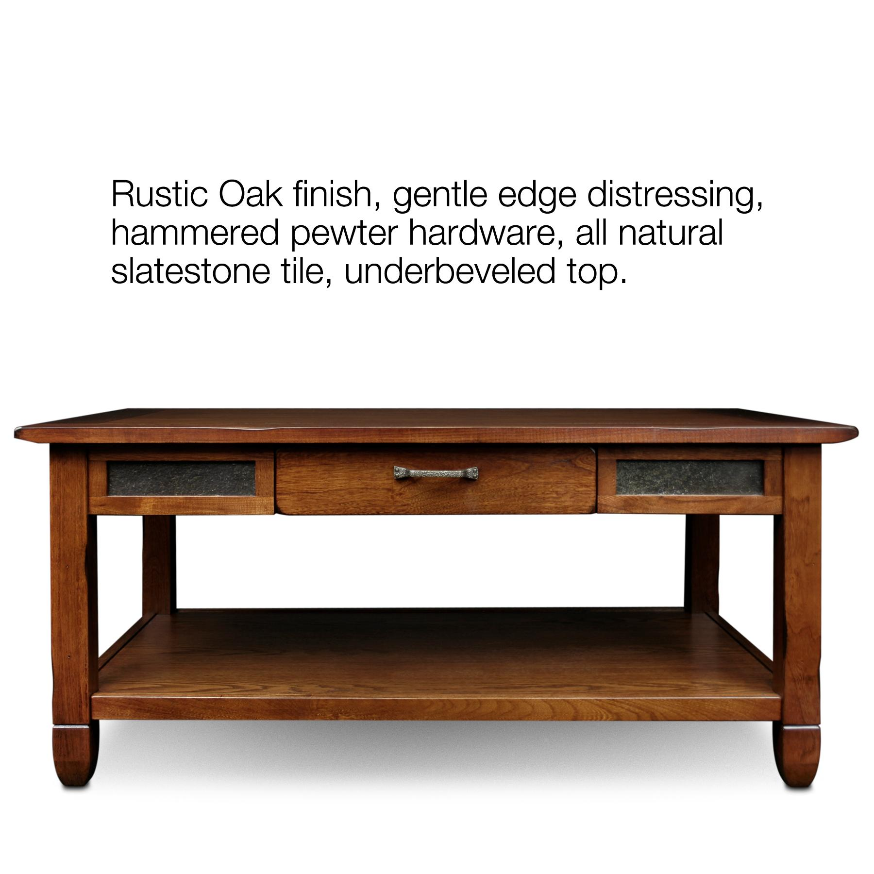 Amazon.com: Slatestone Oak Storage Coffee Table