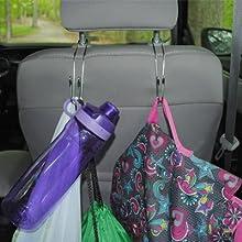 small car hangers, mini hangers for cars, car seat organizer, car seat hanger, B002ZS4QCS
