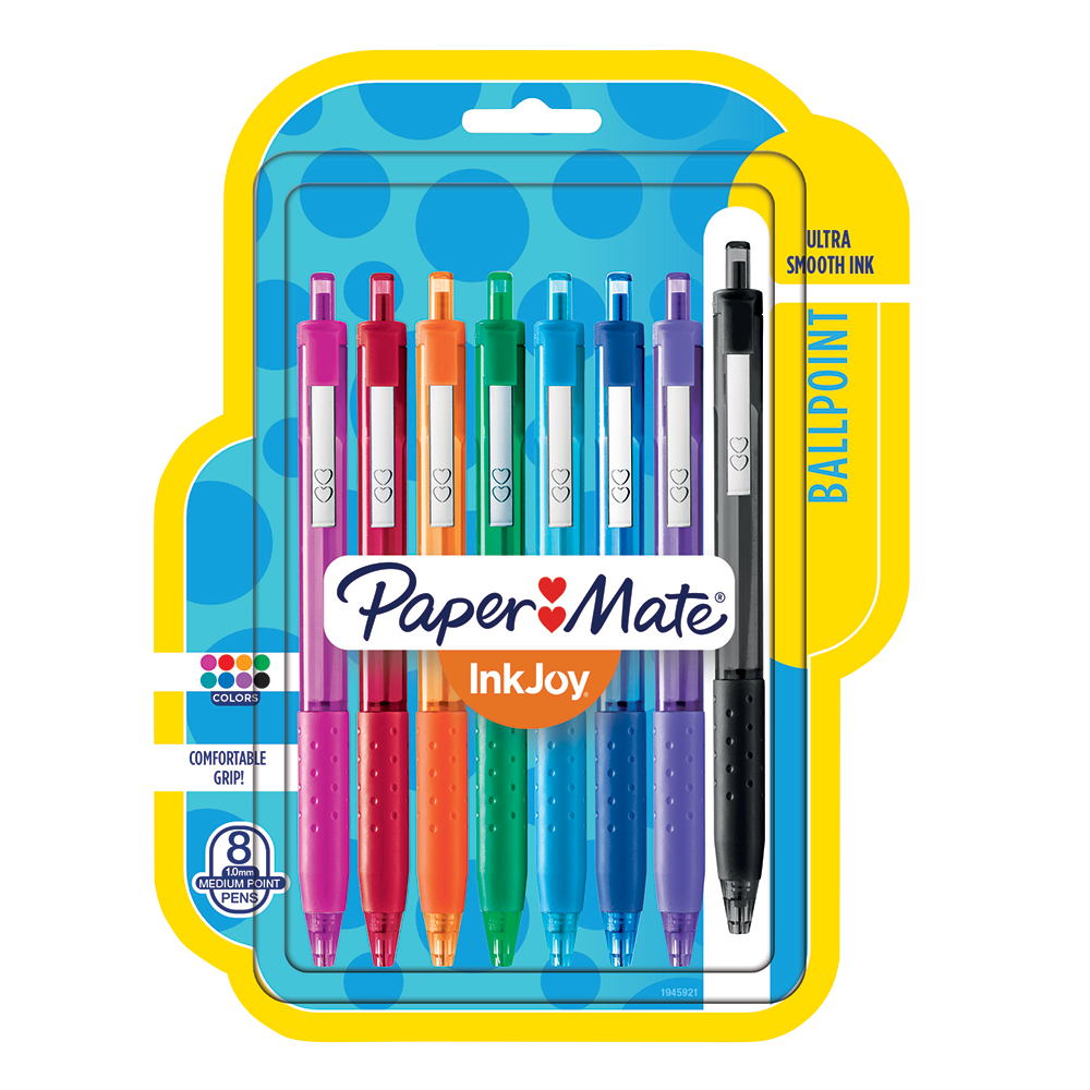 where to buy paper mate inkjoy Shop papermate® inkjoy® gel pens at staplescom fast drying ink and over 14 gel pen colors to choose from add a little color to your life with staples® buy papermate® inkjoy® gel pens | staples®.