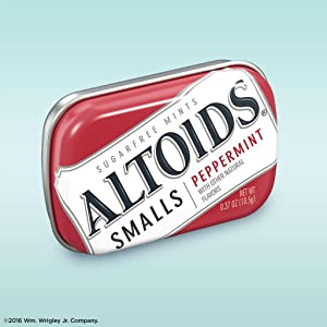 Altoids smalls sugarfree mints tin