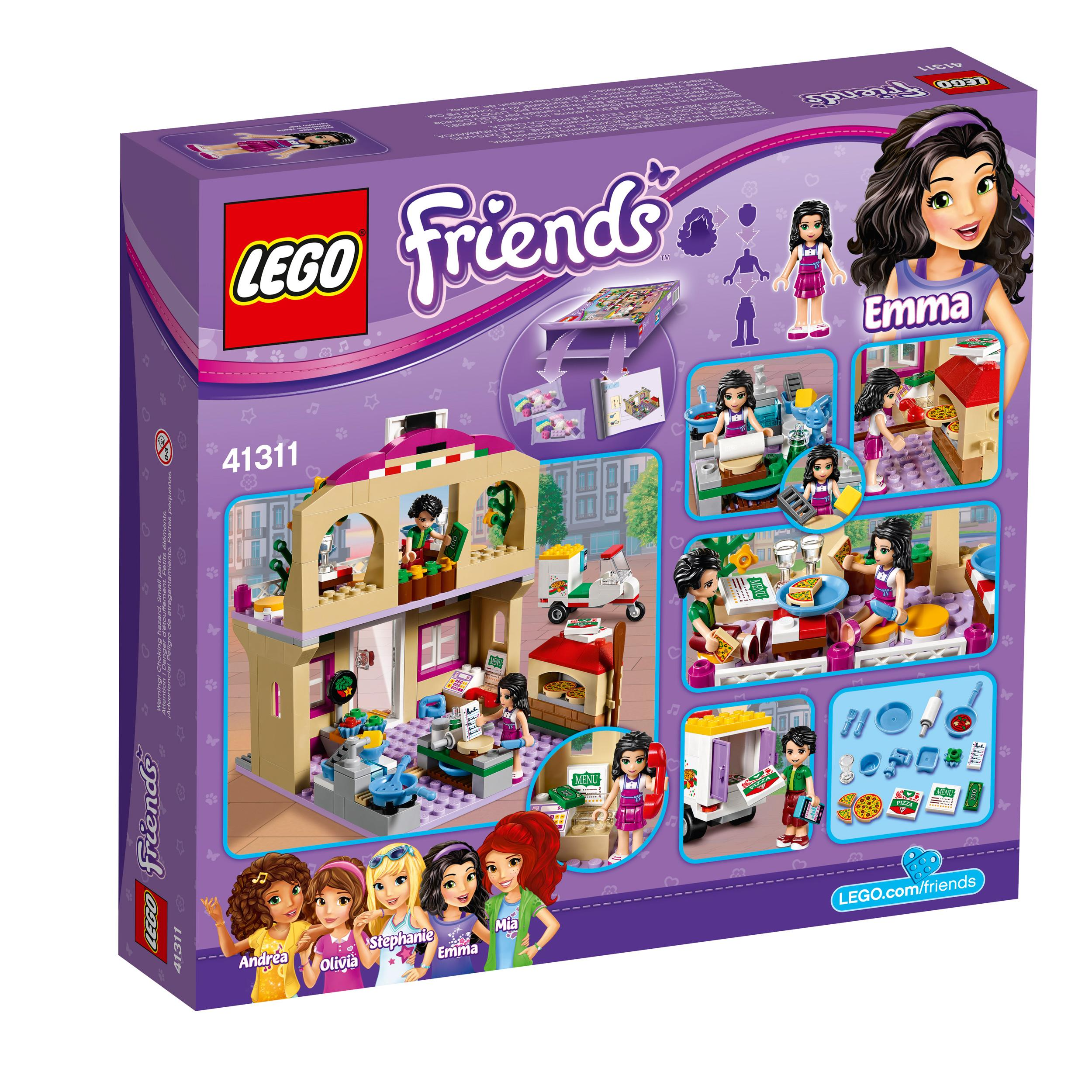 Toys For Friends : Amazon lego friends heartlake pizzeria toy for