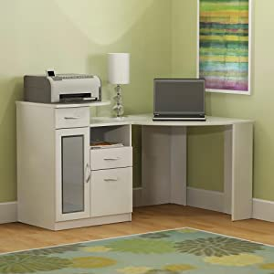 Bush Furniture, Bush Desk, Bush Industries, Vantage, Corner Desk, Office  Desk