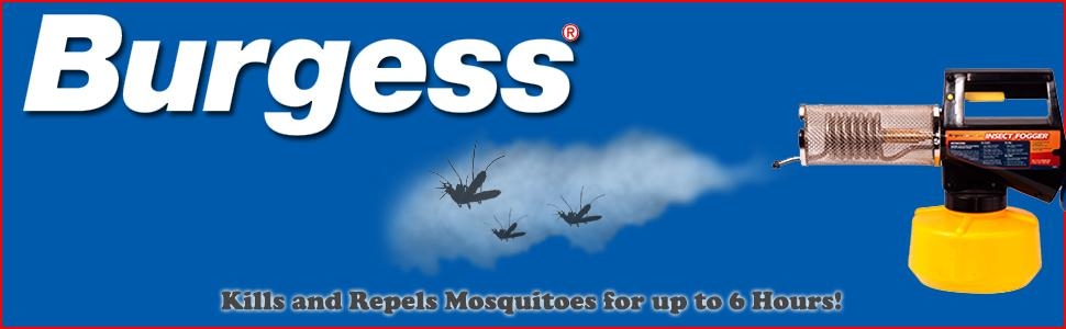 Burgess 1443 Propane Insect Fogger for Fast and Effective Mosquito Control