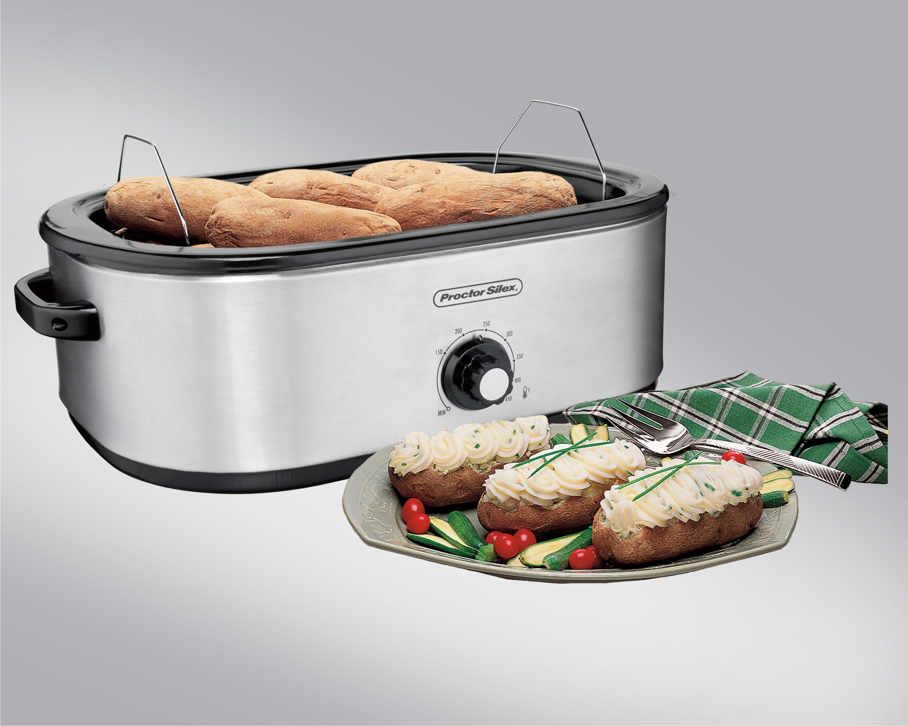roaster turkey electric large roasters ovens slow cooker