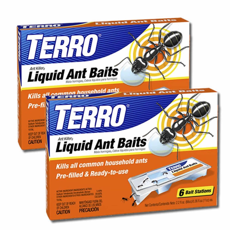 Amazon TERRO T300B 2 Pack Liquid Ant Baits Home Pest Lures