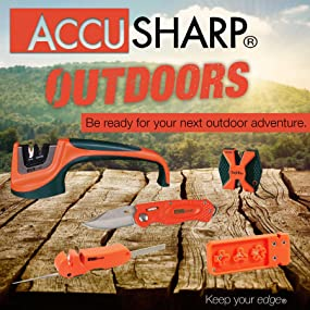 Accusharp Outdoors Knife and Tool Sharpeners
