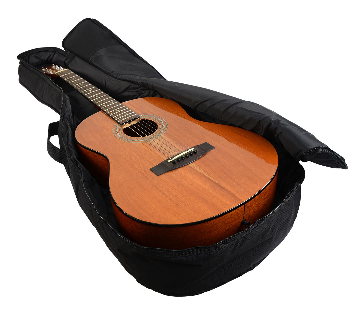 gator cases gig bag for dreadnought acoustic guitars gbe dread musical instruments. Black Bedroom Furniture Sets. Home Design Ideas