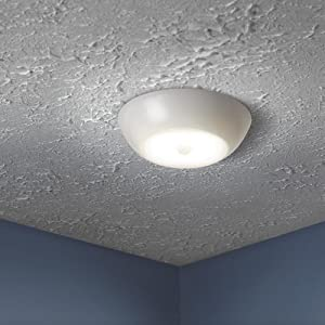 Charmant Battery Powered Ceiling Light Fixture, Bathroom Light Fixtures, Interior  Motion Sensor Ceiling Light