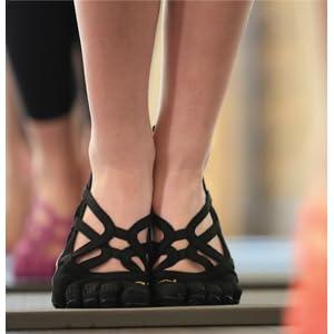 6-6.5 UK38 EU Negro Negro Vibram Fivefingers Para Mujer VI-B FITNESS Zapatos