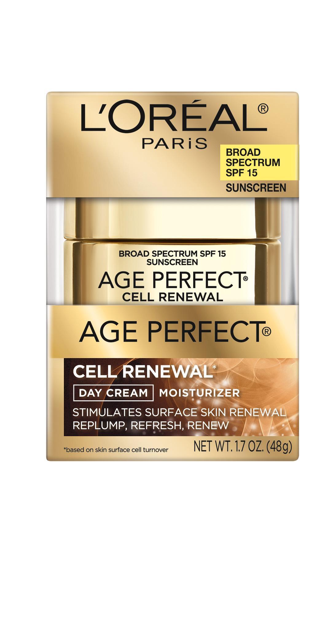 Amazon.com : L'Oréal Paris Age Perfect Cell Renewal Day ...