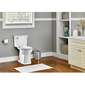 I love the extra height on this toilet. The VorMax flushing feature is  excellent and it keeps the toilet clean. The design looks stunning in my  bathroom.