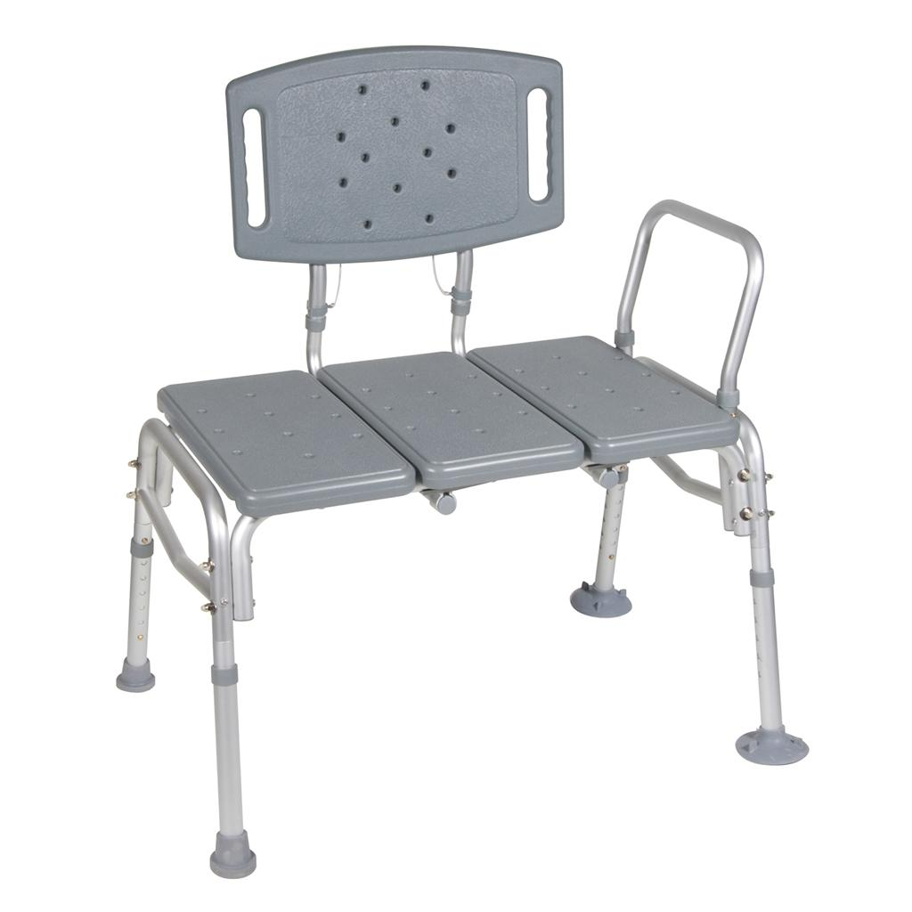 Reversible to accommodate any bathroom and is able to hold up to 500-pounds  sc 1 st  Amazon.com & Amazon.com: Drive Medical Heavy Duty Bariatric Plastic Seat Transfer ...