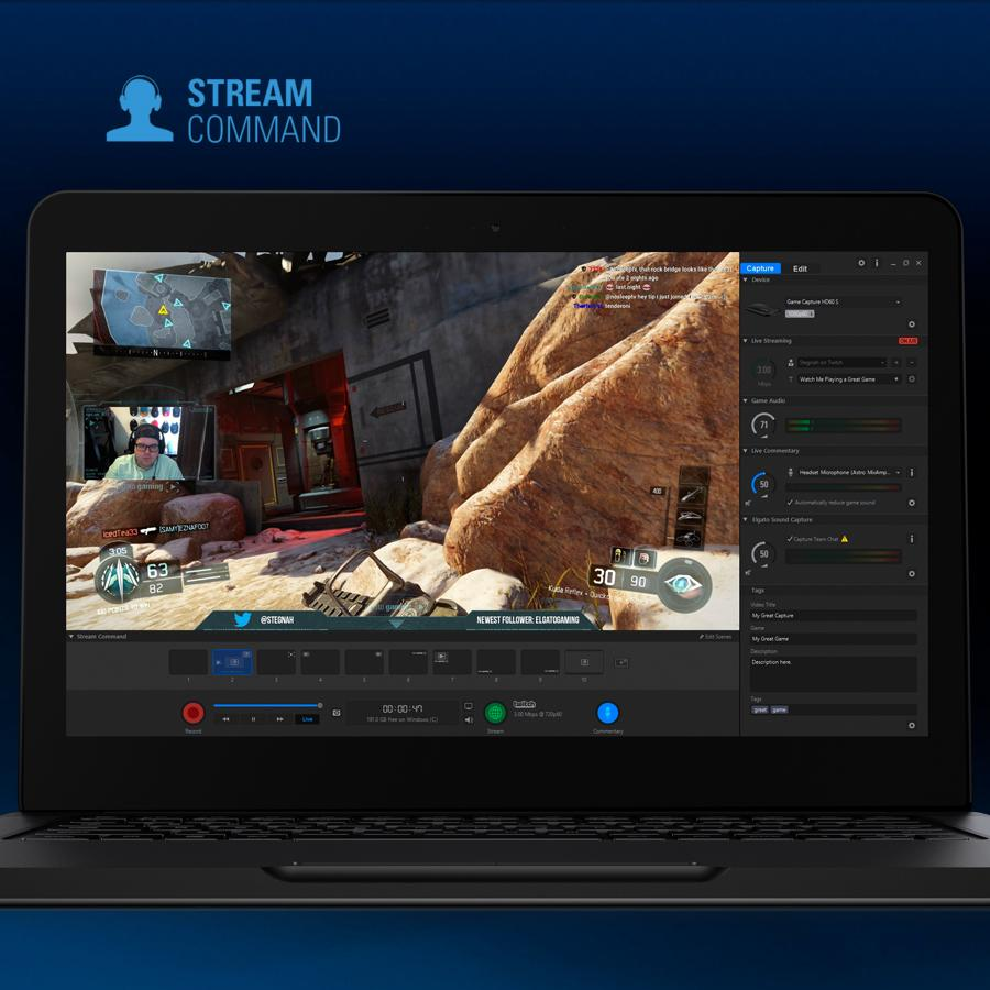 Amazon.com: Elgato Game Capture HD60 S - stream, record and share your