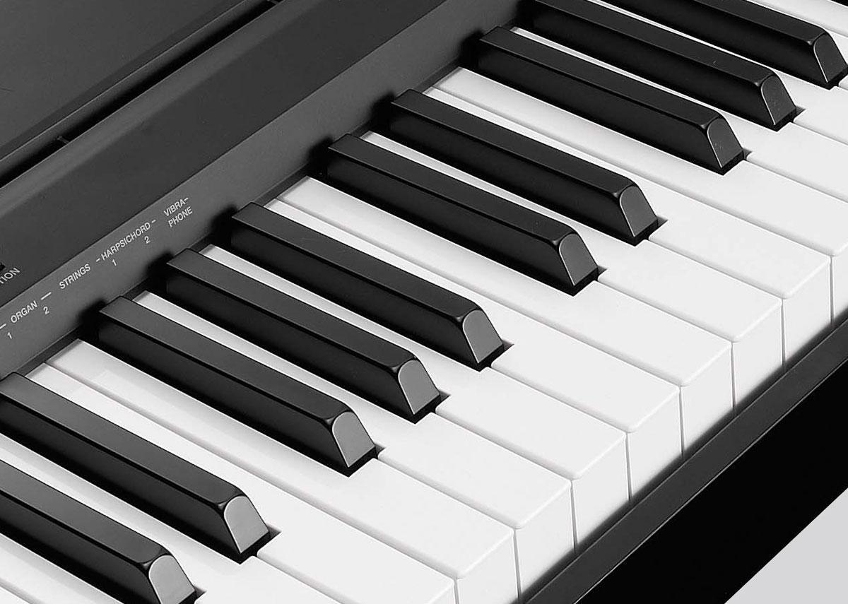 yamaha p series p35b 88 key digital piano black musical instruments. Black Bedroom Furniture Sets. Home Design Ideas
