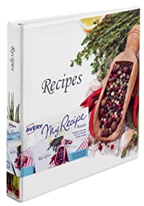 recipe binder and designer view binders