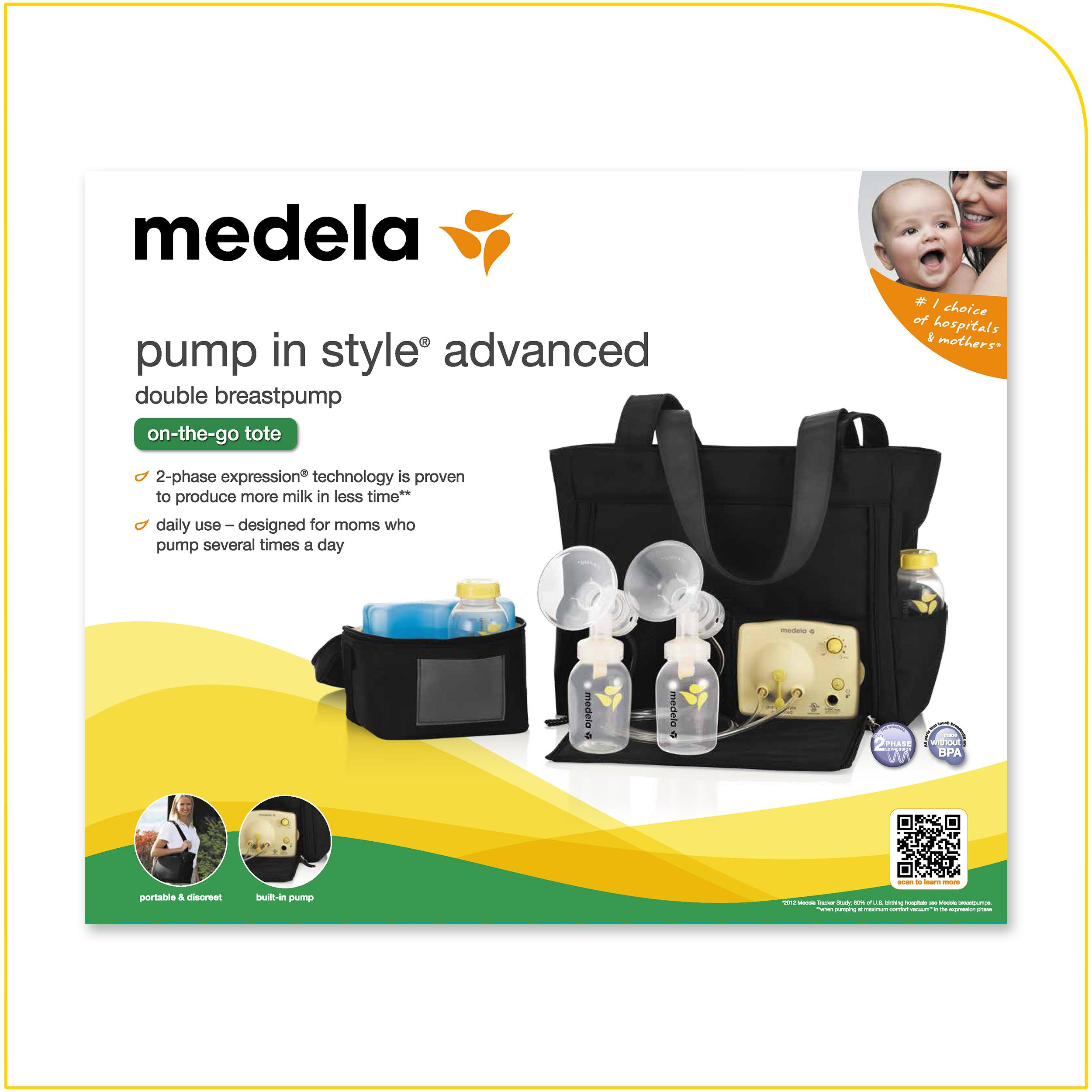 Amazoncom Medela Pump In Style Advanced Double Electric -2811