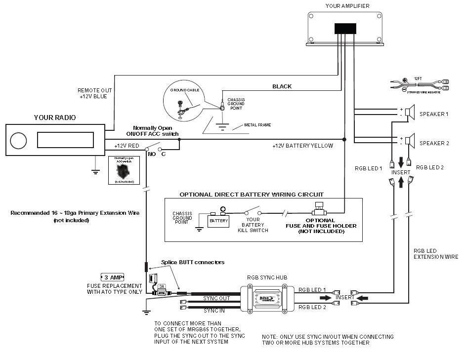Amazon Com  Boss Audio Mrgb65 200 Watt  Per Pair   6 5