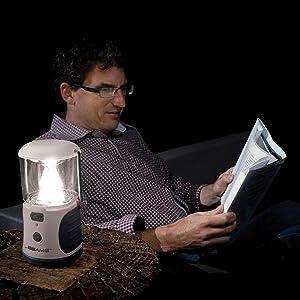 mr beams ultrabright lantern, led camping lantern, battery powered led lantern