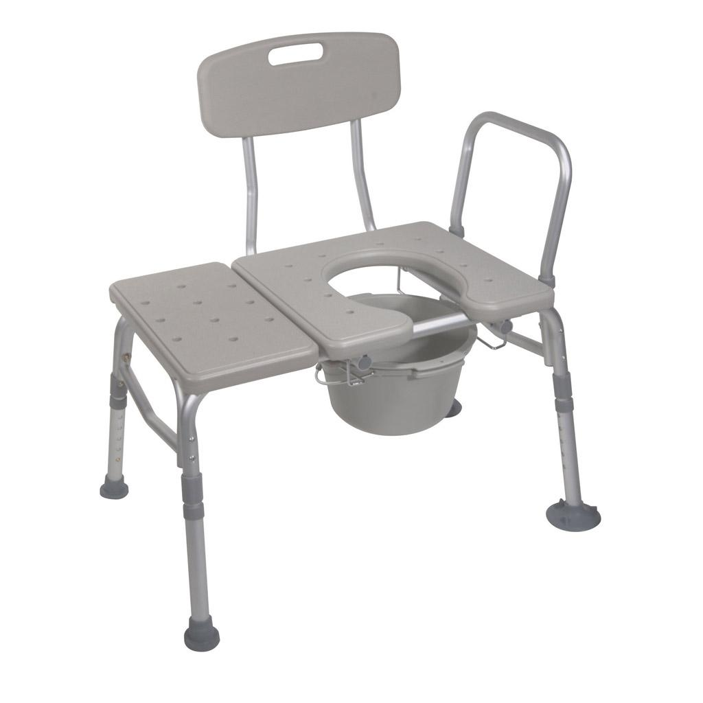 Amazon.com: Drive Medical Combination Plastic Transfer Bench with ...
