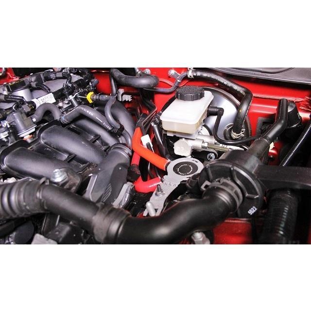 2016+ Mishimoto MMBCC-MIA-16PBE Black Mazda Miata Baffled Oil Catch Can