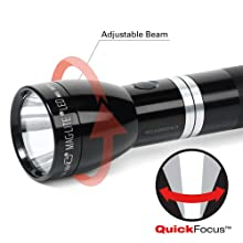 Maglite Rl1019 Led Rechargeable Flashlight System With