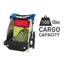 Encore, thule, alle, cargo, kid trailer, bike